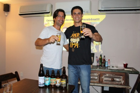 Guilherme e Bruno idealizaram o formato festivo (Foto: Arquivo Pessoal)